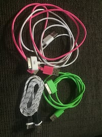 4x iPhone 4 cords one never used!!  Kitchener, N2C 1W8