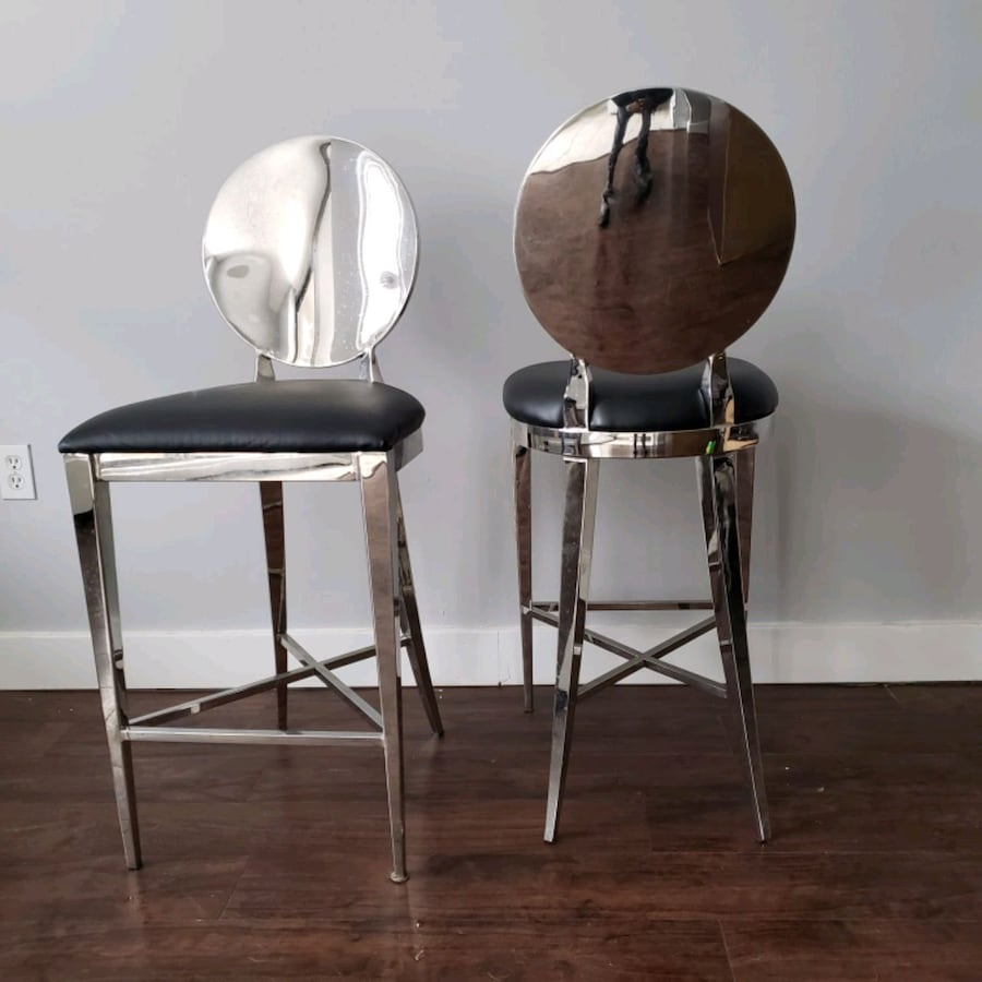 STAINLESS STEAL BAR STOOLS