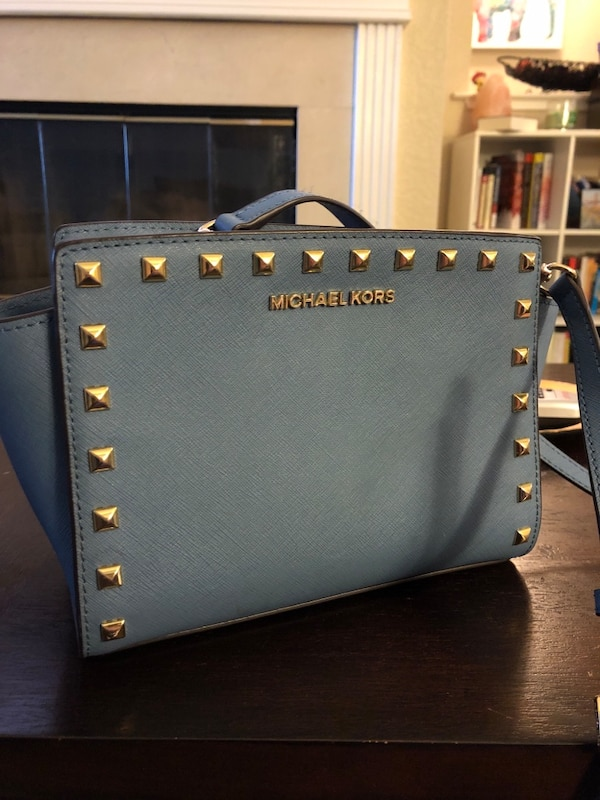 6be621fac1c4 Used Michael Kors studded purse for sale in San Jose - letgo