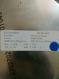 Dulux Paint Blue  Fort Erie, L0S 1N0
