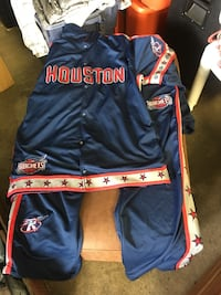 Houston Rockets Warm Up Jumpsuit (Highest offer takes today!) Columbus, 43223