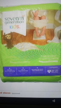 7th generation baby training pads 2t/3t 25ct