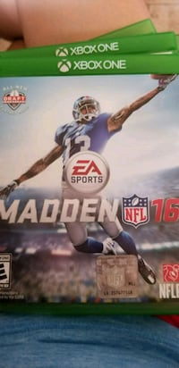 Madden NFL 16 PS4 game case El Paso, 79903