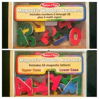 Melissa & Doug Deluxe Magnetic Letters and Numbers Toronto, M5A 4T3