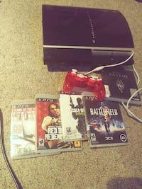 Ps3 5 games one controller Elkhart