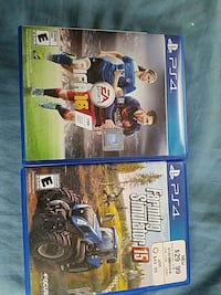 2 sony ps4 games Willimantic, 06226