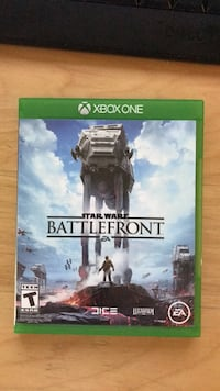 Star Wars Battlefront Xbox One game case Falls Church, 22043