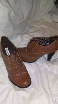 pair of brown leather shoes Augusta, 30906