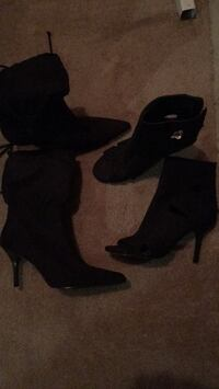 Size 6 boots. Both new. Both for $25 Spruce Grove, T7X 4P6