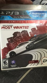 Most Wanted PS3 game case Elkhart, 46514