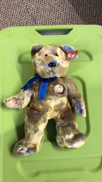 Very rare ty buddy club bear excellent condition Macedonia, 44056