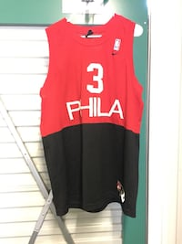 red and black Adidas jersey shirt Pismo Beach, 93449