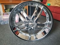 22s chrome rims 5×114  Trenton, 08609