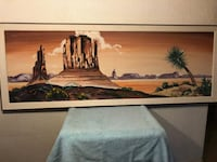 Painted picture oil not canvas Sterling Heights, 48310