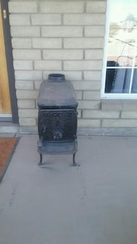 Used Alcove Dunbar Compact Electric Fireplace Heater For Sale In