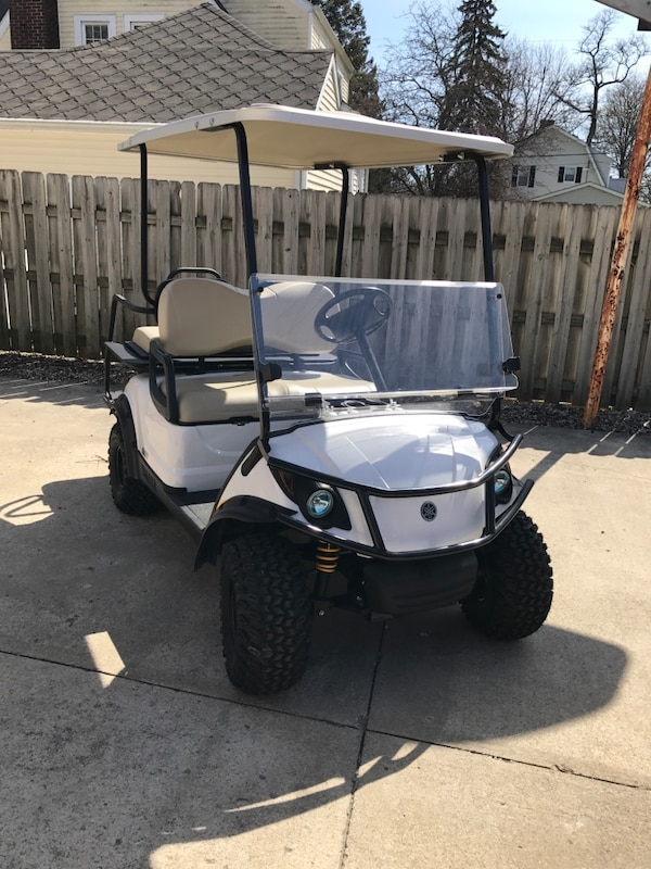 Used 2016 Yamaha Adventurer Golf Cart Gas For Sale In