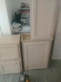 white wooden cabinet with drawer 49 km