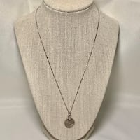 Sterling Silver Islamic Coin Pendant & Sterling Chain Chantilly, 20151