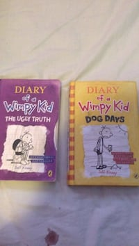Diary of a Wimpy Kid The Ugly Truth and Dog Days by Jeff Kinney books Basingstoke, RG21 4PF