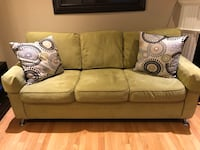 brown fabric 3-seat sofa Vaughan, L6A 0A7