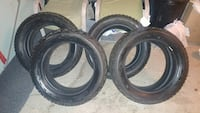 SET OF FIRESTONE WINTERFORSE TIRES