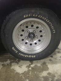 BF Goodrich tires and rims Toronto, M9V 2H4