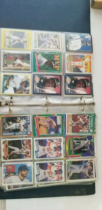 Old baseball cards in plastic sleeves Frederick, 21702