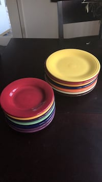 Ceramic dinner (7x) and lunch (7x) plates Falls Church, 22042