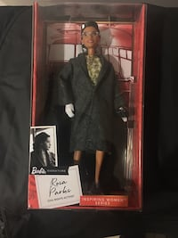 Rosa Parks Collectable Barbie Doll Lanham, 20706