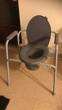 Brand new portable commode chair