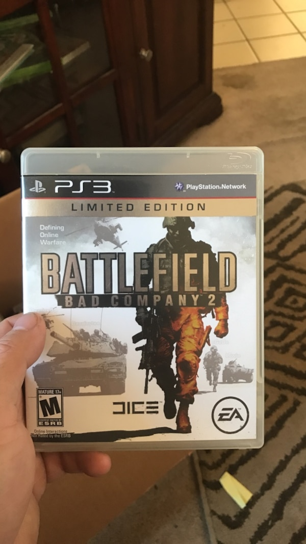 Battlefield bad company 2 ps3 game