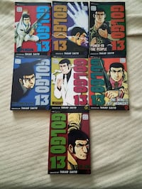 Golgo 13 comic / manga volume 1-7  Ohatchee, 36271