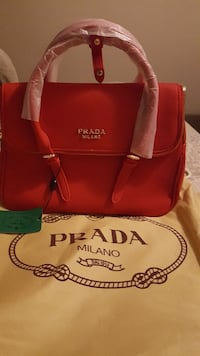 red leather Prada Milano handbag Pickering, L1V 2Y4
