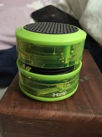 green iHome portable speaker Aldergrove, V4W