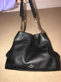 Coach leather black purse Toronto, M9R 1W1