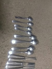 stainless steel spoon and fork set Harrisburg, 17104