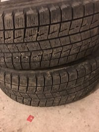 195/60/15 Winter Tires - 2 Tires only 567 km