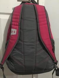 red and black Under Armour backpack 622 km
