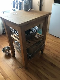 IKEA Small kitchen island  Montréal, H2N 1X6