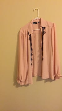 women's pink long-sleeved shirt Alexandria, 22306
