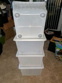 Storage Crates with lids Falls Church, 22046