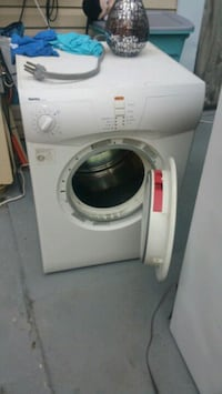 white Bosch front-load washer Alexandria, 22309