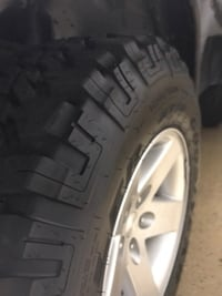 Like new Goodyear Wrangler MT/R tires