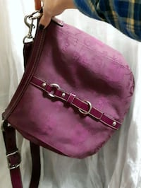 women's purple leather sling bag 3478 km