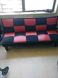 black and red fabric sectional sofa New York, 10032