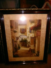 brown wooden framed painting of house Jacksonville, 32226