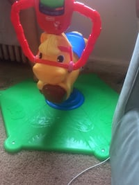 baby's multi colors of fisher price ride on horse toy Hyattsville, 20781