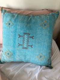 Two moroccan pillows from Salt and Saundry