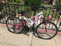 white and red full-suspension bike San Diego, 92115
