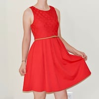 women's red sleeveless dress Manassas Park